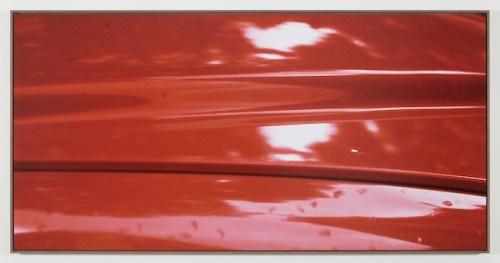Jan Dibbets New Colorstudies – Red (Nuovi studi di colore – rosso),1976-2012 fotografia a colori laminata su Dibond / color photograph laminated to Dibond 125 x 250 cm Courtesy Gladstone Gallery, New York e Bruxelles