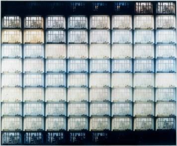 Jan Dibbets The shortest day at my house in Amsterdam (Il giorno più corto nella miacasa di Amsterdam),1970 fotografie a colori / color photographs 178,8 x 215,6 cm