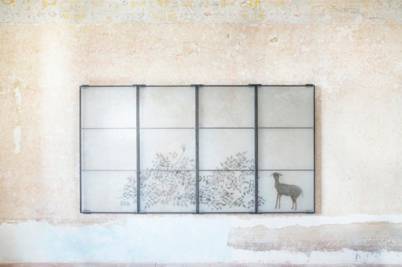 Kiki Smith, Meadow 2005 vetrata di piombo