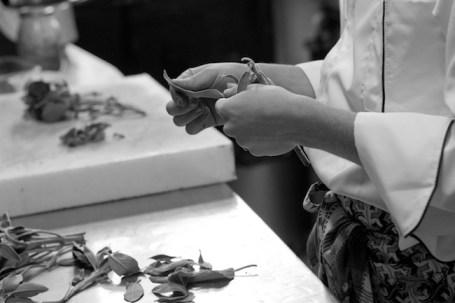 Laura Bianca, Il tatto del gourmet, da Reportage in cucina