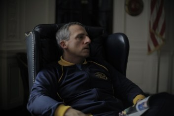 Immagine tratta dal film The Foxcatcher di Bennett Miller