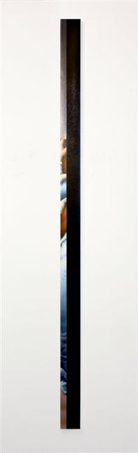 L'orMa, The Kiss, by Francesco Hayez, colori ad olio e acrilici su tela, 200x10cm