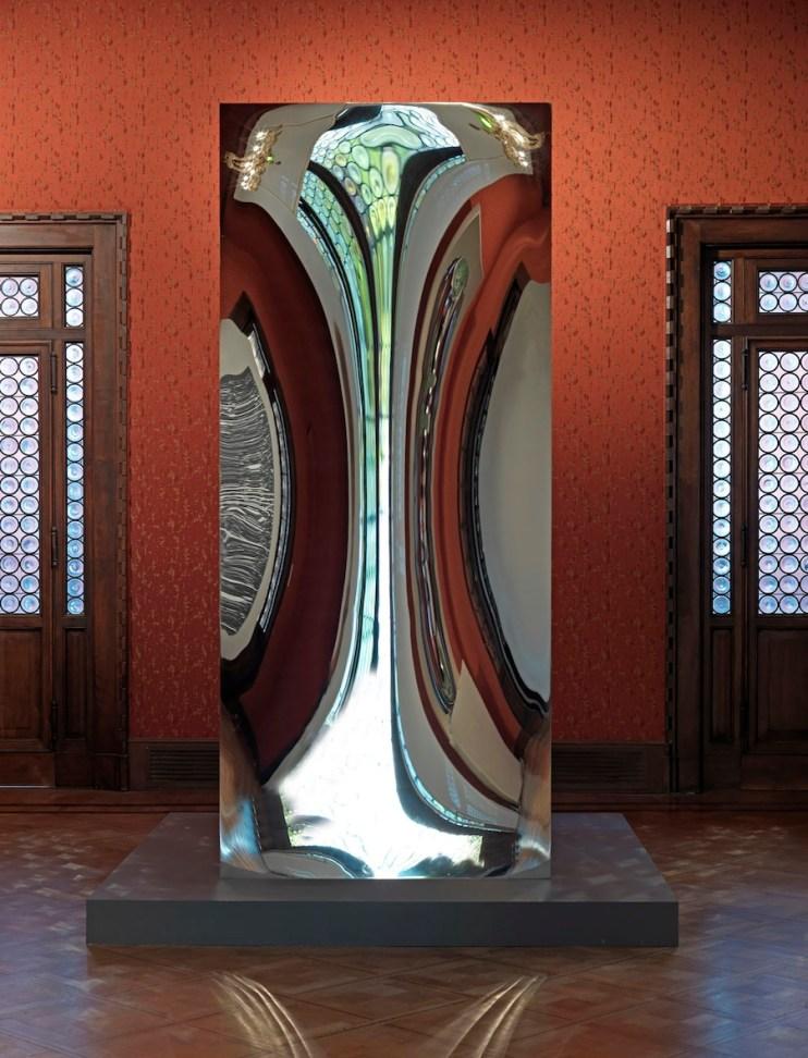 Anish Kapoor, Non-Object (Door), 2008, Non-object (door) 2008, stainless steel, 281.3x118.1x118.1 cm