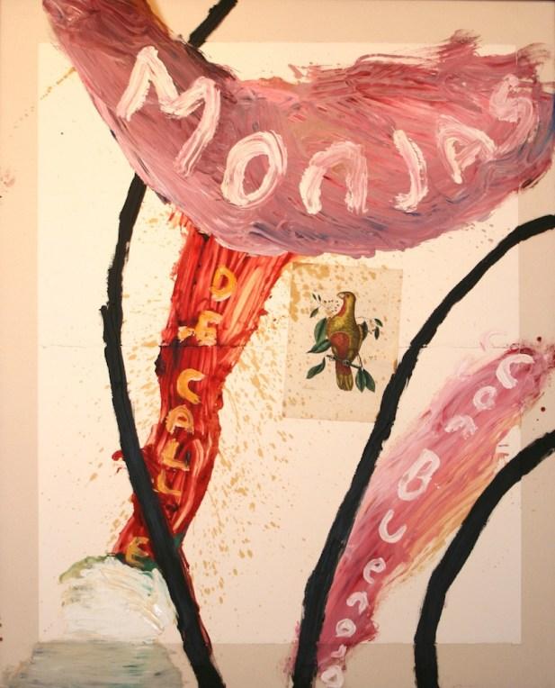 Julian Schnabel, Monjas de Calle Con Buen Ojo, 1993, olio su tela, 233x178 cm Courtesy Claudio Poleschi Arte Contemporanea, Lucca