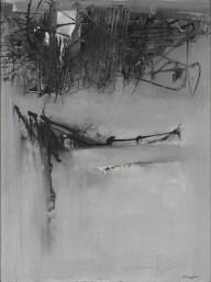 Emilio Scanavino, Costruzione, 1960, olio su tela, 130x97 cm