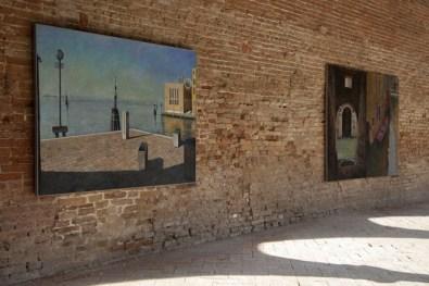 Tom Parish. Venezia, 2014, veduta della mostra