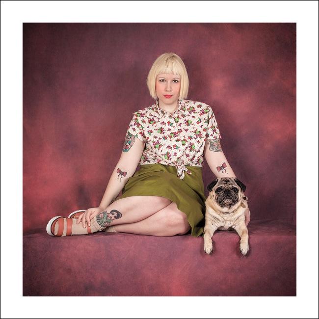 Human Dog, Silvia Amodio, Die Mauer Arte Contemporanea, Prato