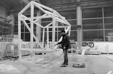 Willy Verginer, work in progress