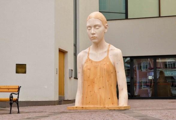 Bruno Walpoth, Biennale Gherdëina work in progress, Ortisei