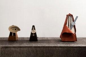 Salvador Dalí, Metronome, 1944; Man Ray, Indestructible Object, 1923 (1965); Claes Oldenburg – Coosje van Bruggen, Silent Metronome, 2005