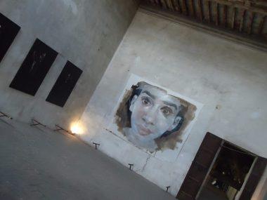 Quadrilegio, 1.Veduta della mostra presso Alphacentauri, con opere di Massimo Lagrotteria e Andrea Caiumi