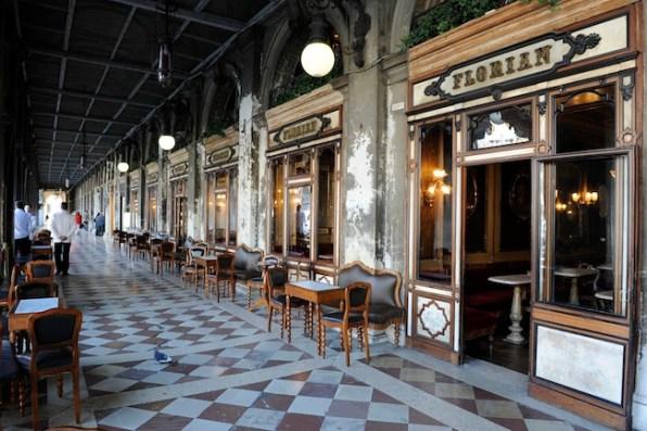 Caffé Florian, ingresso, ph. Archivio Caffé Florian