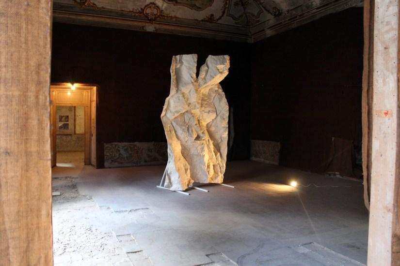 Giacomo rizzo, Respiro, 2014, gesso 300x200