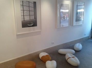 Silvano Rubino, Anemos, veduta della mostra, 2014, Veniceinabottle