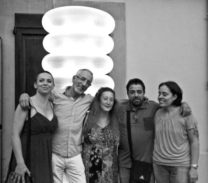 Marradi Campana InFesta 2014, Mona Lisa Tina, Stefano Scheda, Serena Piccinini, Maurizio Brunetti, Marina Naldoni, ph. Nedo Zanolini