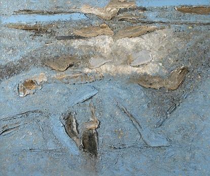 Piero Zuccaro, Sospensione, 2007, olio su tela, 100x120 cm