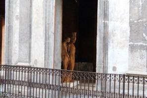 Salvatore Rizzuti, Il canto delle sirene, 2013, scultura in legno di cipresso