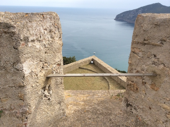 Forte Stella, veduta dal terrazzo