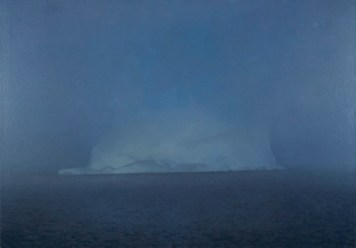 Gerhard Richter, Eisberg im Nebel, 1982 Iceberg in Mist Oil on canvas, 70 cm x 100 cm The Doris and Donald Fisher Collection © 2014 Gerhard Richter