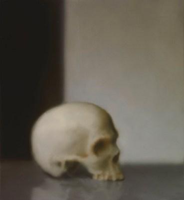 Gerhard Richter, Schädel, 1983 Skull Oil on canvas, 55 cm x 50 cm Loan from a private collection at the Gerhard Richter Archiv, Staatliche Kunstsammlungen Dresden © 2014 Gerhard Richter