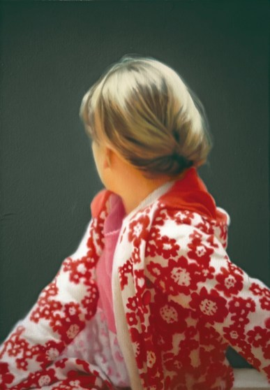Gerhard Richter, Betty, 1988 Oil on canvas, 102 cm x 72 cm Saint Louis Art Museum, Funds given by Mr. and Mrs. R. Crosby Kemper Jr. through the Crosby Kemper Foundations, The Arthur and Helen Baer Charitable Foundation, Mr. and Mrs. Van-Lear Black III, Anabeth Calkins and John Weil, Mr. and Mrs. Gary Wolff, the Honorable and Mrs. Thomas F. Eagleton; Museum Purchase, Dr. and Mrs. Harold J. Joseph, and Mrs. Edward Mallinckrodt, by exchange © 2014 Gerhard Richter
