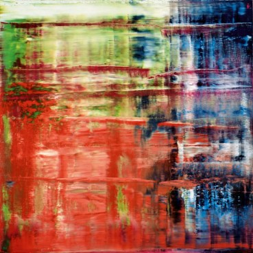 Gerhard Richter, Bach (1), 1992 Oil on canvas, 300 cm x 300 cm Moderna Museet, Stockholm, Acquisition 1994 with a contribution from Moderna Museets Vänner (The Friends of Moderna Museet) © 2014 Gerhard Richter