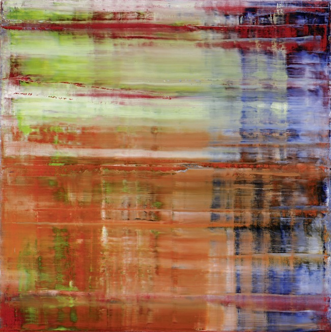 Gerhard Richter Bach (4), 1992 Oil on canvas, 300 cm x 300 cm Moderna Museet, Stockholm, Acquisition 1994 with a contribution from Moderna Museets Vänner (The Friends of Moderna Museet) © 2014 Gerhard Richter