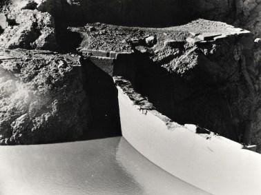 resized_La Diga del Vajont, il coronamento dopo la catastrofe del 1963