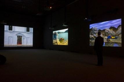 Bill Viola, 2014, installation view, Grand Palais, Galeries nationales