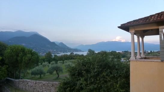Vista del Garda da Palazzo Cominelli Courtesy Fondazione Cominelli / AGC