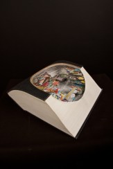 Brian Dettmer, Random House, 2007, libro alterato, 27.31x17.78x13.65 cm, @SchPhoto