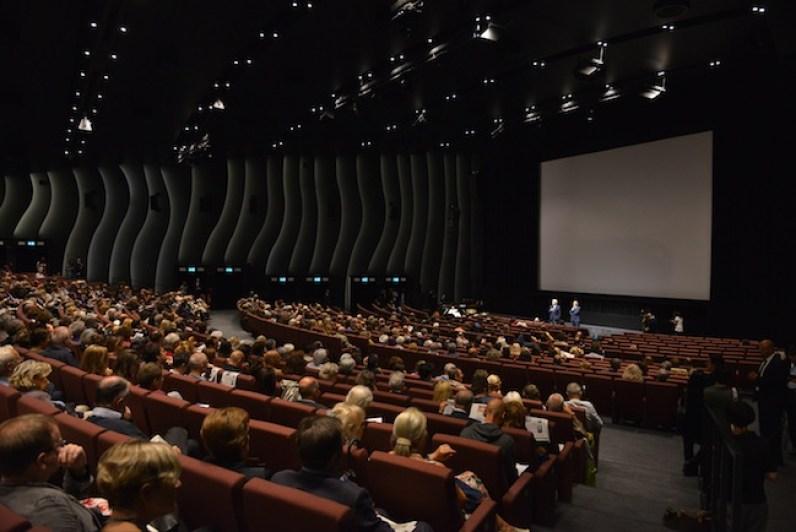 Proiezione Pre-opening, P.Baratta, A.Barbera, La Biennale di Venezia, Foto ASAC