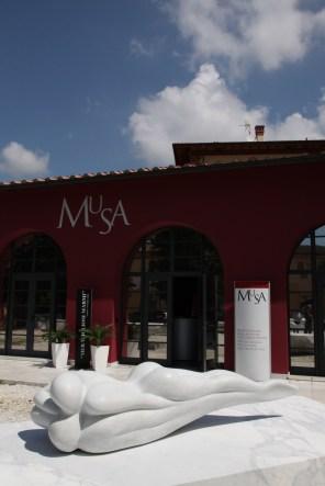 Meravigliosi Marmi. Art&Design. Immaginare, progettare, arredare, foto dell'allestimento, MuSA - Museo Virtuale della Scultura e dell'Architettura, Pietrasanta (LU)