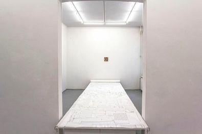 Installation view, Un'Idea Brillante, FRISE Künstlerhaus, 2014