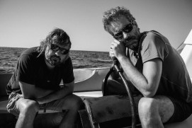 Masbedo (Nicolò Massazza e Iacopo Bedogni) backstage di 'The Lack', 2013