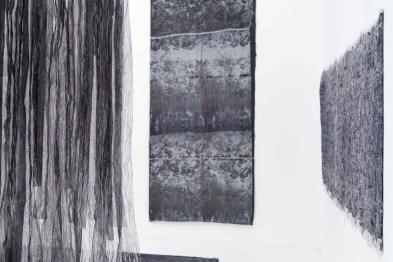 Textile vivant, allestimento della mostra, Triennale Milano (Ivana Margherita Cerisara)