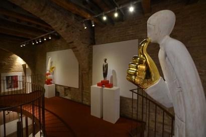 Ivan Lardschneider, A child's play, 2014-3, installation view, iSculpture Art Gallery