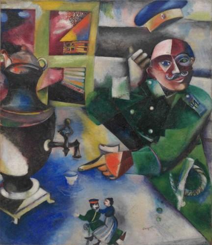 Marc Chagall, Il soldato beve, 1911-1912 Solomon R. Guggenheim Museum, New York, Solomon R. Guggenheim Founding Collection