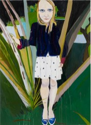 Chantal Joffe Moll 2010 olio su tavola / oil on board 280 x 203 cm Courtesy the Artist and Victoria Miro Gallery, London © Chantal Joffe