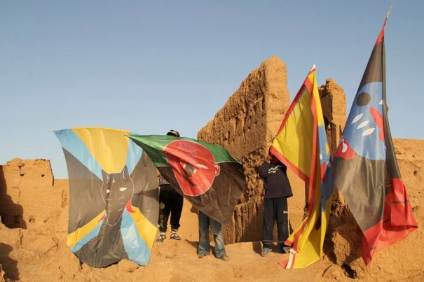 ANDRECO, my tribe, still video, Marocco, 2012