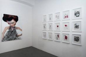 DDANILO BUCCHI, MONOCHROME, INSTALLATION VIEW, courtesy galleria poggiali e forconi