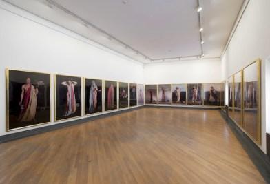 """Luigi Ontani - """"er"""" """"SIMULÀCRUM"""" """"amò"""" Vedute dell'installazione - GAMeC, Bergamo, 2014 Foto: Giorgio Benni Courtesy GAMeC – Galleria d'Arte Moderna e Contemporanea di Bergamo"""