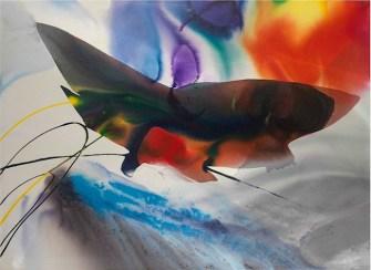 Paul Jenkins, Phenomena North Harbor Omen, 1969, Acrylic on canvas, 120.5 x 169 cm