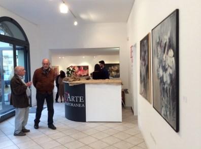 RezArte - veduta della galleria durante In Contemporanea