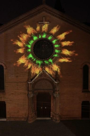 Nicola Evangelisti, Speculum Solis, Chiesa di San Procolo, Bologna, settembre 2014