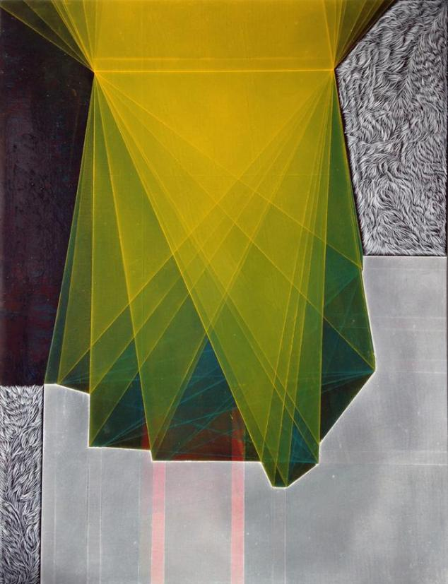 Celeste Prize - Painting & Drawing Prize - Emmy Mikelson, Threshold composition no.20