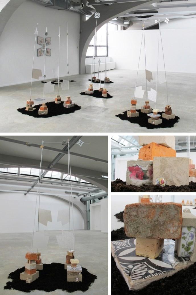 Le jardin de la Résistance 2013. Installazione site specific Kunsthalle Mulhouse: tecnica mista, misure variabili.