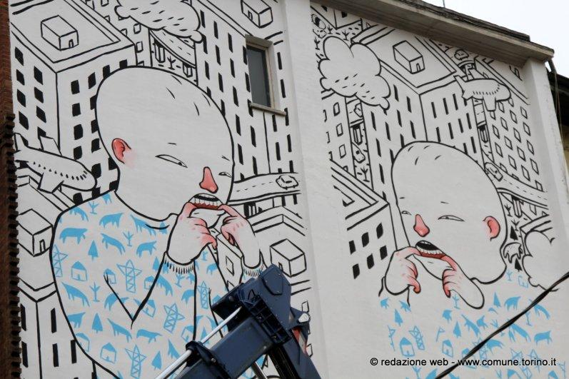 B.ART Arte in barriera - MILLO - VIA CRESCENTINO, Torino