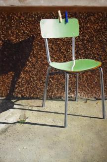 Premio Celeste - Premio del Pubblico - Andrea Ciresola, Composizione per sedia e mollette