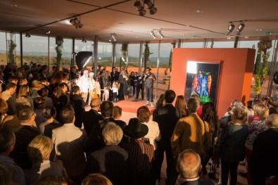 David La Chapelle alla presentazione del 4 ottobre 2014, 10 Vendemmie, Rocca di Frassinello, Gavorrano (GR) © Massimo Sestini